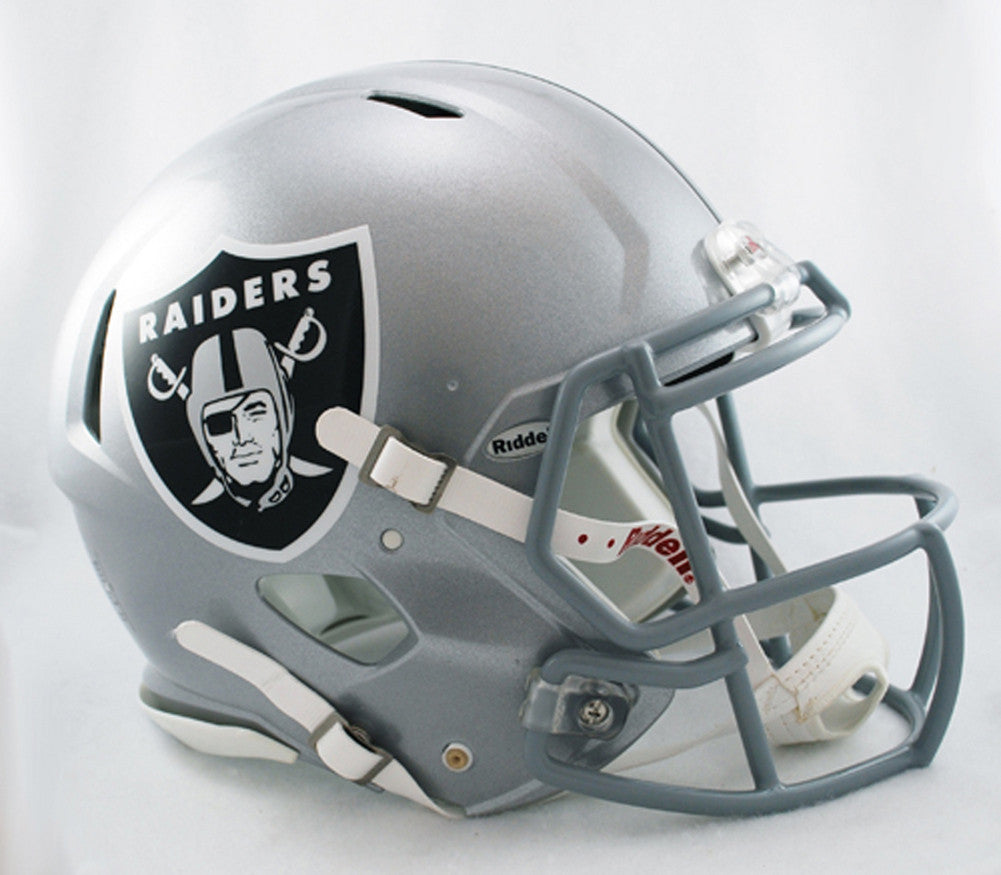 Riddell Revolution Speed Mini Helmet - Oakland Raiders