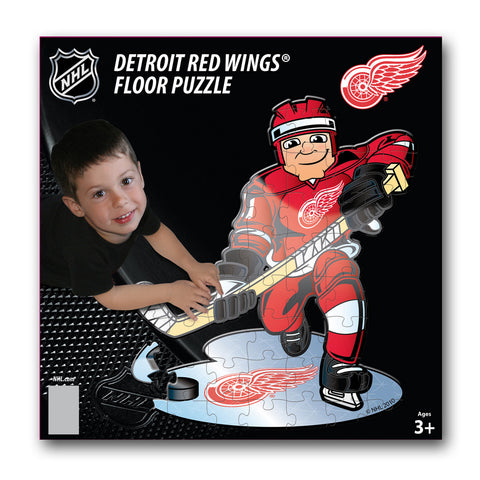 Ppw Floor Puzzles -  Detroit Red Wings - Peazz.com