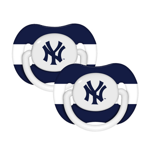 2-Pack Pacifiers - New York Yankees - Peazz.com