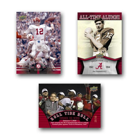 2012 Upper Deck University of Alabama Football Blaster - Peazz.com