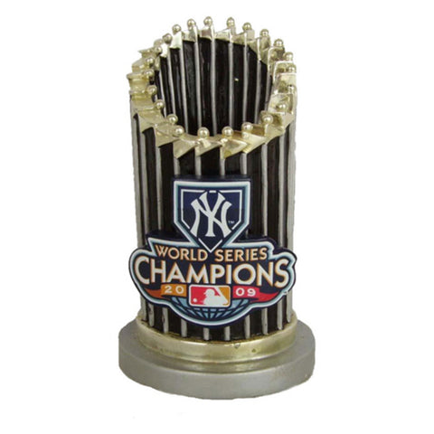 2009 World Series Trophy Paperweight - New York Yankees - Peazz.com