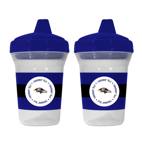Baby Fanatic 2-Pack Sippy Cups - Baltimore Ravens - Peazz.com