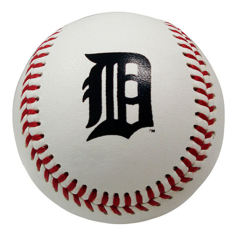 Blank Leather MLB Team Logo Baseballs - Detroit Tigers - Peazz.com
