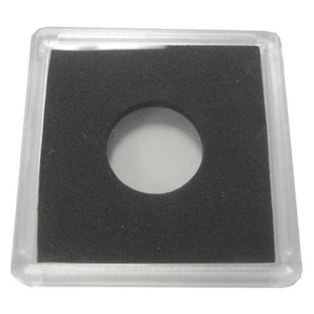 2x2 Plastic Coin Holder With Black Insert - Cent (25 Holders)