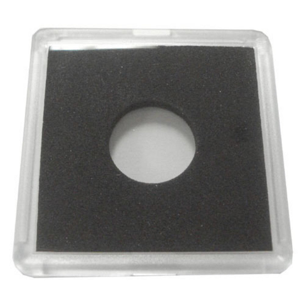 2x2 Plastic Coin Holder With Black Insert - Dime (25 Holders)