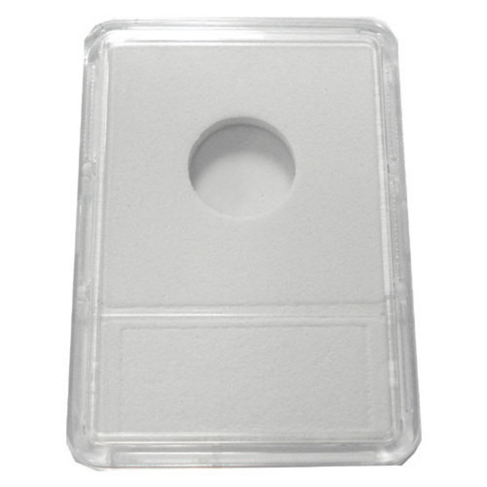 Slab Coin Holders With White Labels - Dime (25 Holders)