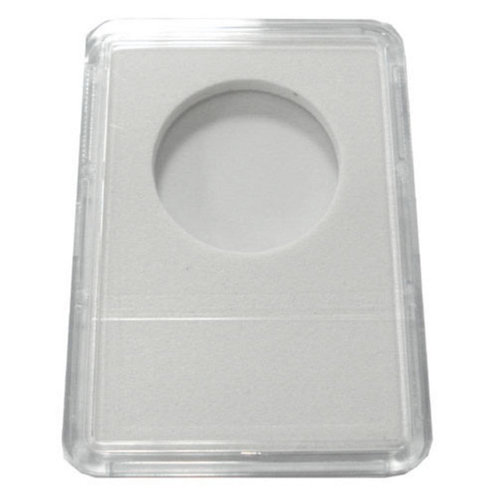 Slab Coin Holders With White Labels - Half Dollar (25 Holders)