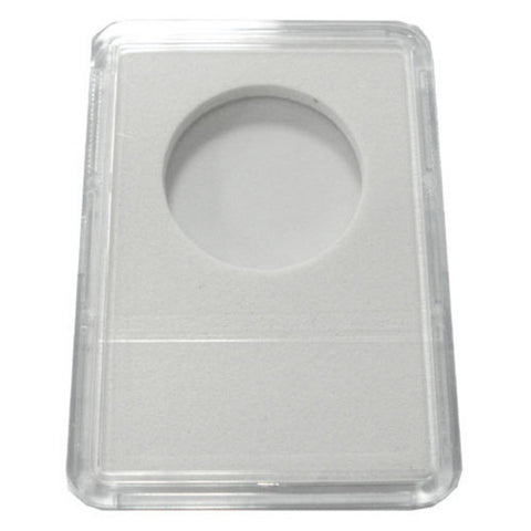 Slab Coin Holders With White Labels - Half Dollar (25 Holders) - Peazz.com