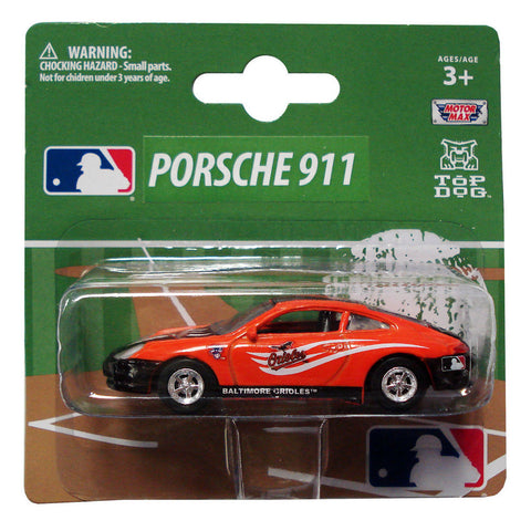 Top Dog 1:64 Scale Baltimore Orioles Porsche - Peazz.com