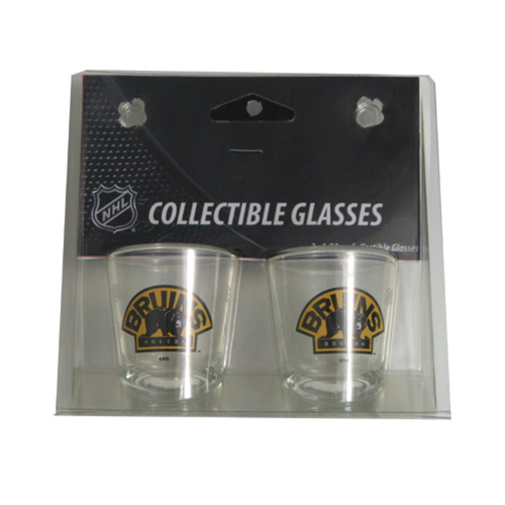Boelter Shot Glasses 2-Pack - Boston Bruins