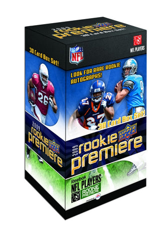 2009 Upper Deck Rookie Premiere NFL Boxed Set - Peazz.com