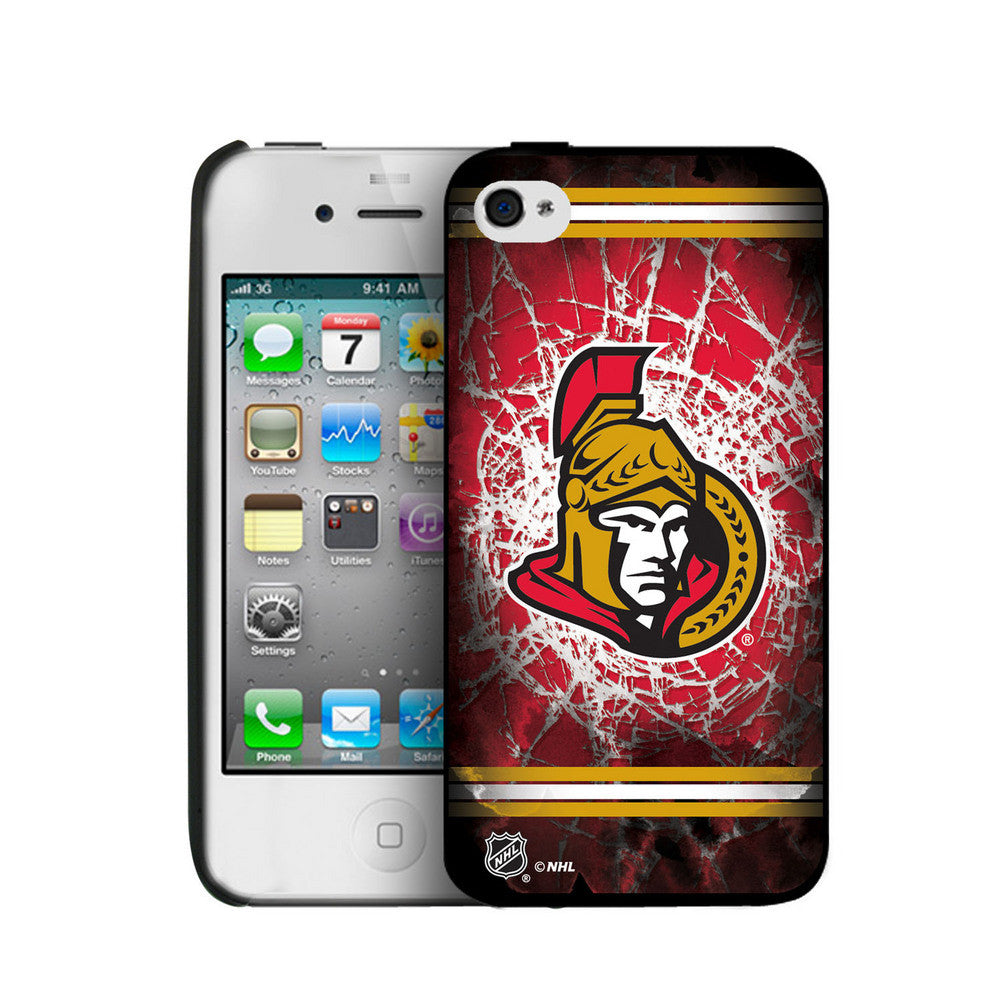 Iphone 4/4S Hard Cover Case - Ottawa Senators