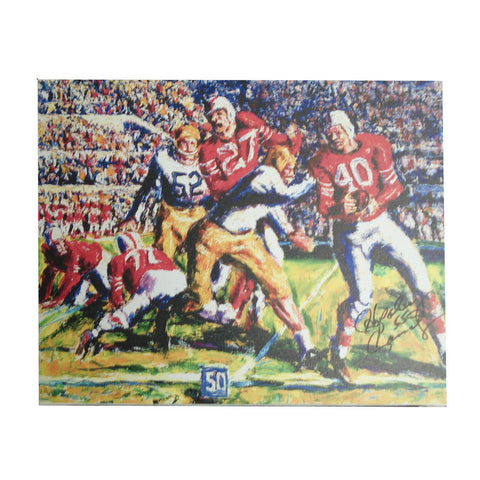 Autographed Hop Cassady 16-By-20-Inch Stretched Canvas Unframed (Coa: Sports Images) - Peazz.com