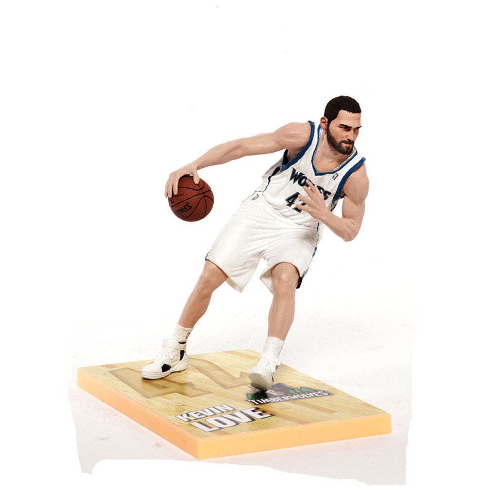 Mcfarlane 2012 NBA Series 21 Kevin Love Minnesota Timberwolves Action Figure SPI-MBKT21BKTMINKL