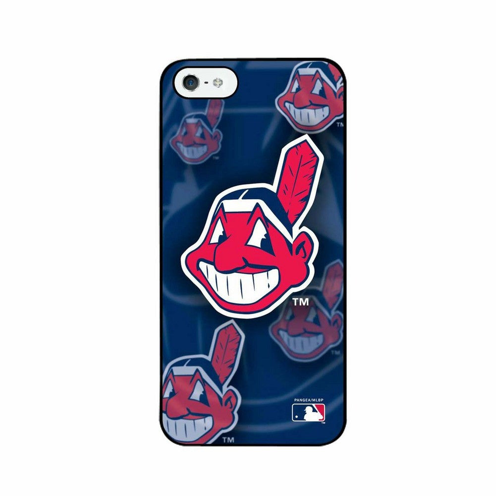 Iphone 4/4S MLB Cleveland Indians 3D Logo Case