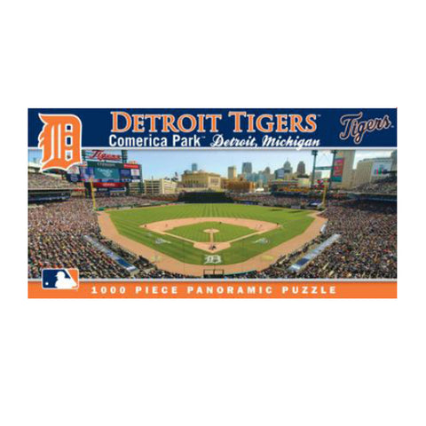1000 Piece Ballpark Puzzle - Detroit Tigers - Peazz.com