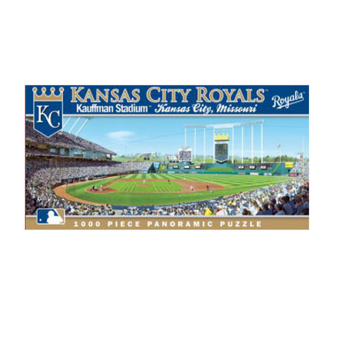 1000 Piece Ballpark Puzzle - Kansas City Royals - Peazz.com
