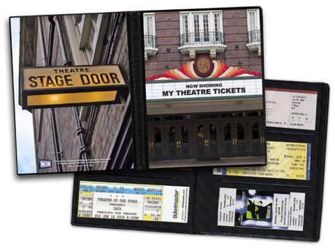 Ticket Album Theater Theme (Holds 96 Tickets) - Peazz.com