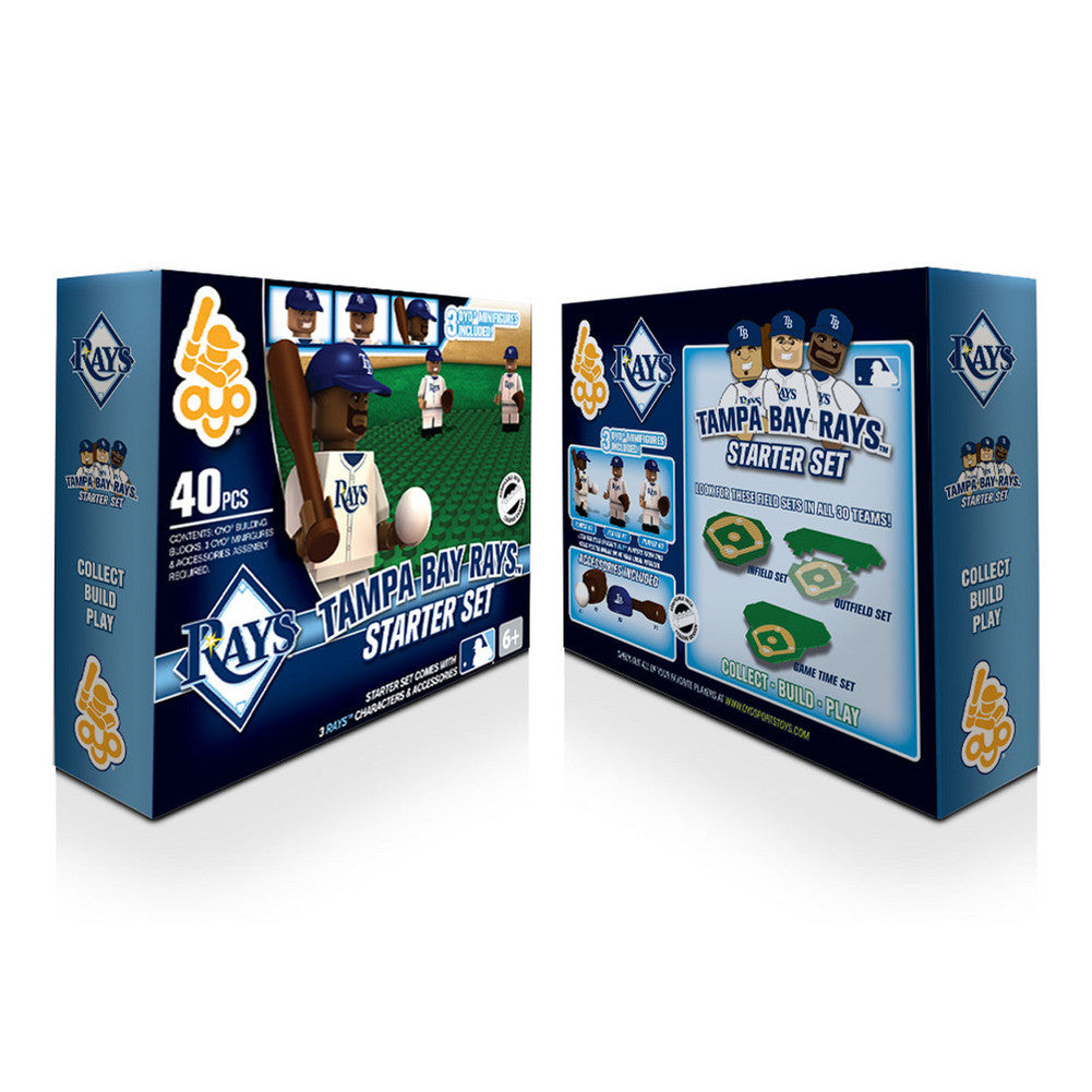OYO MLB Practice Field Set -  Tampa Bay Rays