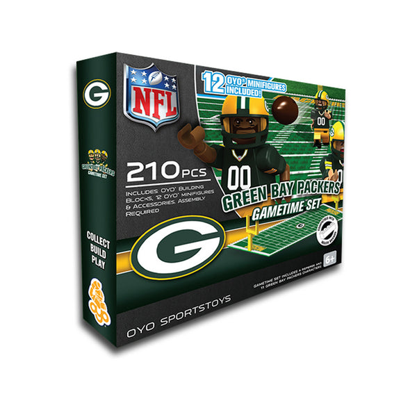 Toy Stores Green Bay : Green bay packers game time set