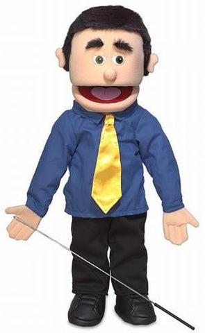 "25"" George Puppet Peach - Puppethut"