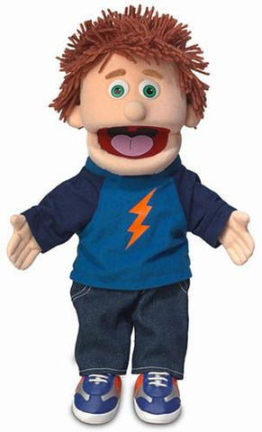 "14"" Tommy Puppet Peach - Peazz Toys"
