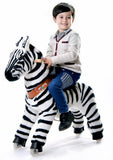 Vroom Rider x PonyCycle VR-N4012 Ride-On Zebra for 4-9 Years Old - Medium - PonyCycle Store