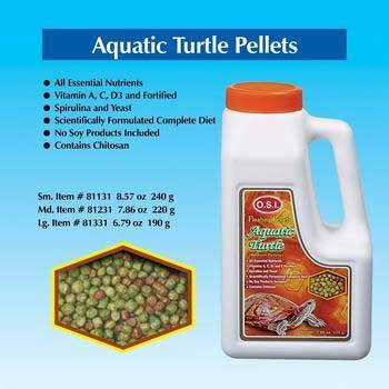 Turtle Pellets Medium 7.86 Oz - Peazz Pet