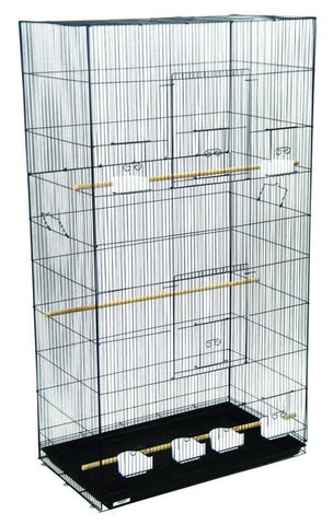 YML Group 3x2494BLK Lot of 3 XLarge Breeding Cages - Black - Peazz Pet