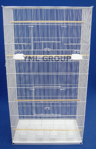 YML Group 3x2494WHT Lot of 3 XLarge Breeding Cages - White - Peazz Pet