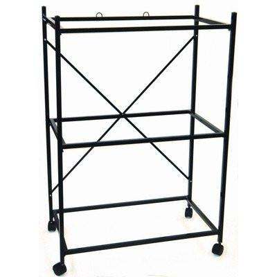 YML Group 4164BLK 3 Shelf Stand for 2464 and 2474, Black - Peazz Pet