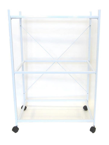YML Group 4164WHT 3 Shelf Stand for 2464 and 2474, White - Peazz Pet