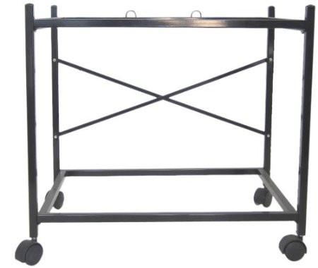 YML Group 4184BLK 2 Shelf Stand for 2464, 2474 and 2484, Black - Peazz Pet