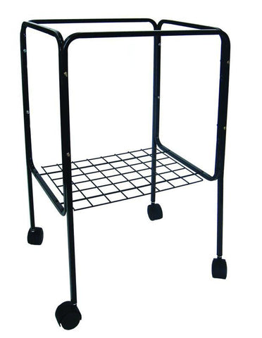 YML Group 4814BLK Stand for Cage size 18x18 and 18x14, Black - Peazz Pet