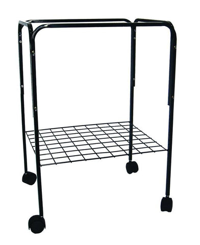 YML Group 4924BLK Stand for Cage size 20x16, Black - Peazz Pet