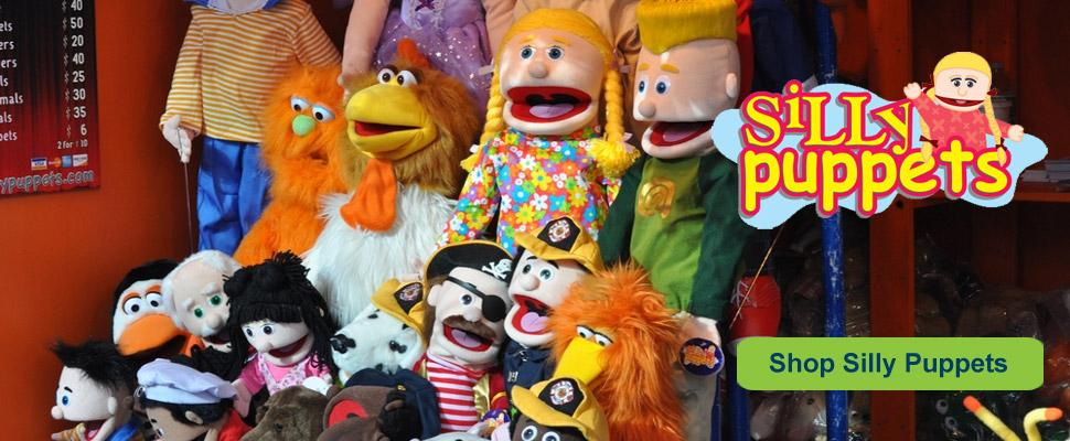 Silly Puppets In Stock Now