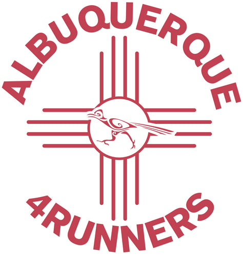 Albuquerque 4 Runners Die-Cut Sticker