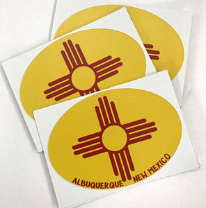 Albuquerque New Mexico Stickers