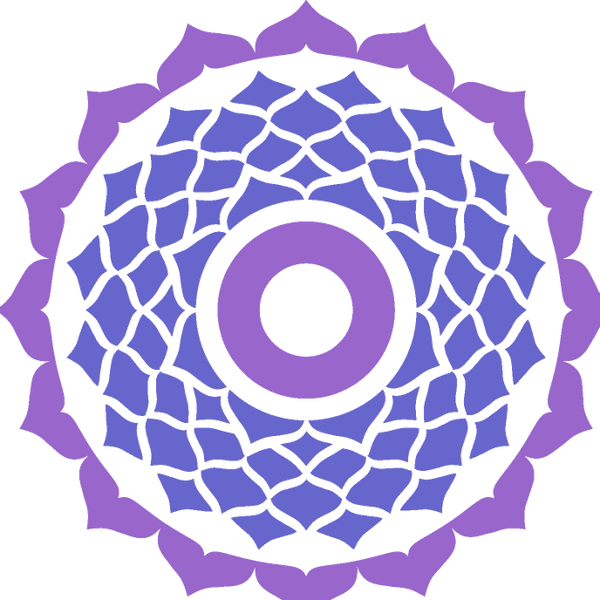 crown chakra sticker