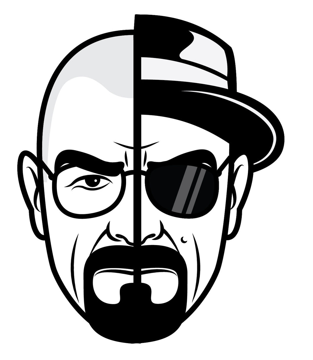 Breaking Bad Heisenberg Stickers - 5