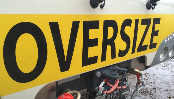 Oversize Load DOT Decals