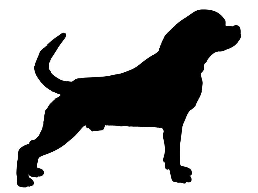 Rottweiler Dog Stickers