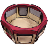 "Pet Playpen 45"" Exercise Puppy Dog Pen Kennel Folding Design Easy Storage"