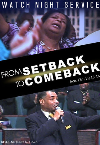 1047 From Setback to Comeback (DVD)