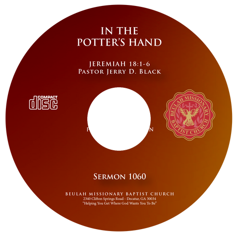 1060 In The Potter's Hand (CD)