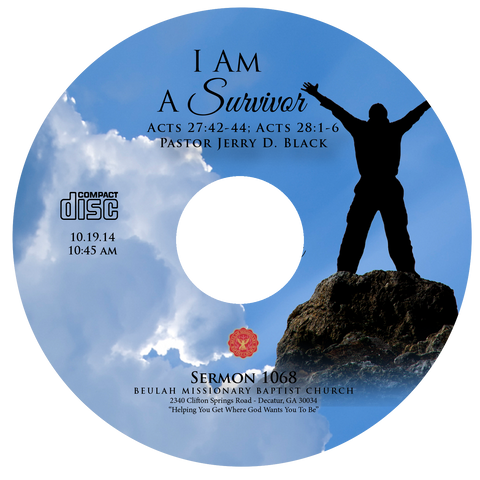 1068 I Am a Survivor (CD)