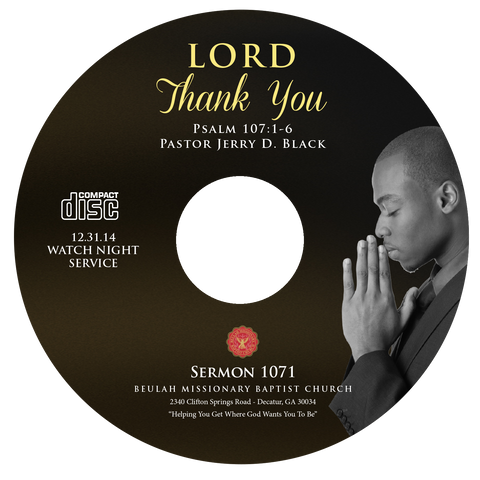 1071 Lord Thank You (CD)