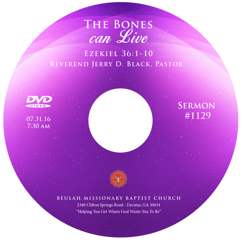 1129 The Bones Can Live (CD)