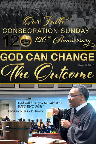 1134 God Can Change the Outcome (DVD)