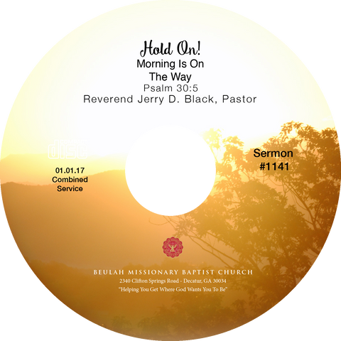 1141 Hold On Morning is Coming (CD)